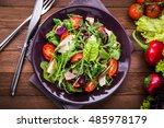 Fresh Healthy Salad With...