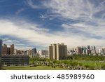 regional landscape at city of... | Shutterstock . vector #485989960