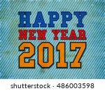 vintage poster  banner or flyer ... | Shutterstock .eps vector #486003598