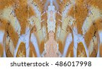 color solarized surface... | Shutterstock . vector #486017998