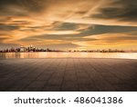 cityscape and skyline of... | Shutterstock . vector #486041386