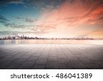 cityscape and skyline of... | Shutterstock . vector #486041389