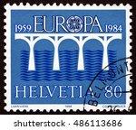 croatia zagreb  7 february 2016 ...   Shutterstock . vector #486113686