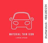 car bright red material...
