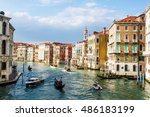 venice  italy   april 25  2012  ... | Shutterstock . vector #486183199
