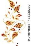 paisley vector motifs seamless... | Shutterstock .eps vector #486230230