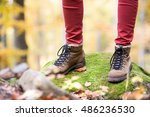 close up of legs of... | Shutterstock . vector #486236530