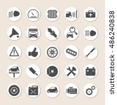 illustration   collection of... | Shutterstock . vector #486240838