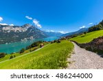 Panorama View Walensee  Walen ...