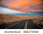 Sunrise Near Winslow  Arizona