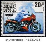 guinea bissau   circa 1985  a...   Shutterstock . vector #48631435
