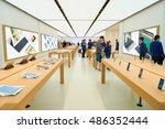 hong kong   circa september ... | Shutterstock . vector #486352444
