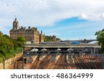 waverly station and hotel... | Shutterstock . vector #486364999