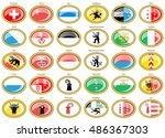 set of icons. cantons of... | Shutterstock .eps vector #486367303