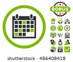 calendar appointment icon with... | Shutterstock .eps vector #486408418