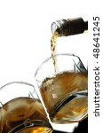 whiskey  with an ice | Shutterstock . vector #48641245