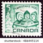 Canada   Circa 1967  A Stamp...