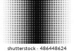 gradient background with dots... | Shutterstock .eps vector #486448624