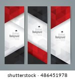 white  red and black abstract... | Shutterstock .eps vector #486451978