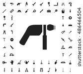 drill icon illustration... | Shutterstock .eps vector #486466504