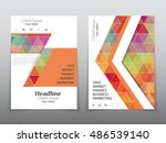 business brochure flyer banner... | Shutterstock .eps vector #486539140