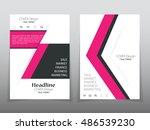 business brochure flyer banner... | Shutterstock .eps vector #486539230