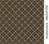 geometric fine abstract... | Shutterstock . vector #486539350