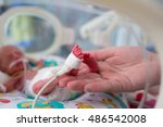 Small photo of neonatal infant pulse oximeter for premature babies