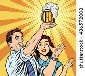 triumph beer festival bar pub... | Shutterstock .eps vector #486572008