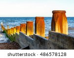 Wooden Groynes To Protect The...