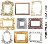 9 Different Wooden Metallic...