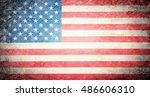 flag of usa | Shutterstock . vector #486606310