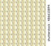 ethnic boho seamless pattern.... | Shutterstock .eps vector #486610894
