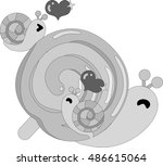 my original illustration of...   Shutterstock .eps vector #486615064