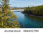 Mountain River  Surrounded By...