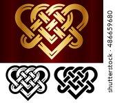 Vector Small Celtic Heart...