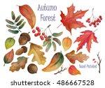 hand drawn illustration  ... | Shutterstock . vector #486667528