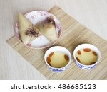 this is china's food rice...   Shutterstock . vector #486685123