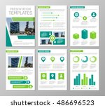 vector green template for... | Shutterstock .eps vector #486696523