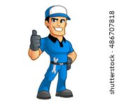 sympathetic car mechanic  he...