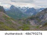 mountain scenery near orsta ... | Shutterstock . vector #486793276