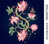 vector rapport for ornament....   Shutterstock .eps vector #486807460