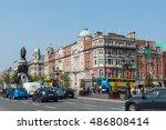 dublin  ireland   sept 20  2012 ... | Shutterstock . vector #486808414