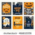 Vector Set Of Halloween...
