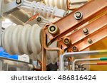 the high voltage switch  high... | Shutterstock . vector #486816424