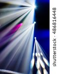 abstract image of disco lights. ...   Shutterstock . vector #486816448
