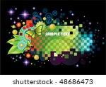 beautiful multicolor background