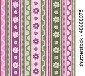 spring  pattern  seamless ...   Shutterstock .eps vector #48688075
