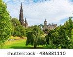 edinburgh  scotland   september ... | Shutterstock . vector #486881110