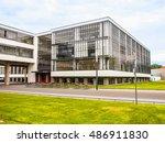 dessau  germany   june 13  2014 ... | Shutterstock . vector #486911830
